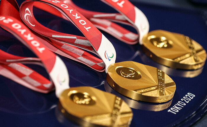 Goldmedaillen bei den diesjährigen Olympischen Spielen in Tokio