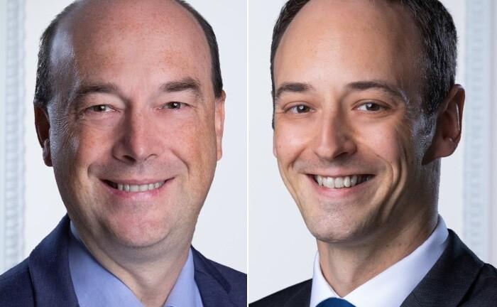 Martin Zimmermann (links) und Thilo Heidrich