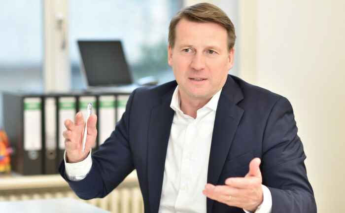 """Lars Brandau, Geschäftsführer Deutscher Derivate Verband (DDV): """"Vermögensverwalter kommen an der Absicherung mit strukturierten Produkten kaum noch vorbei."""