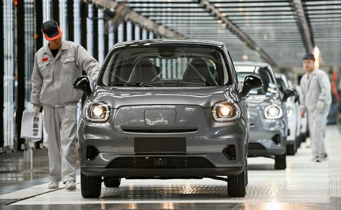 Elektroautos des chinesischen Start-ups Leapmotor